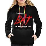 Meat Loaf Band Logo Women Stylish Hoodies Outdoor Long Sleeve Hoodie Sweater Black