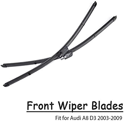 Wipers BACKAR 2pcs Front Windshield Wiper Blades For Audi A8 D2 D3 D4 2017 2018 95
