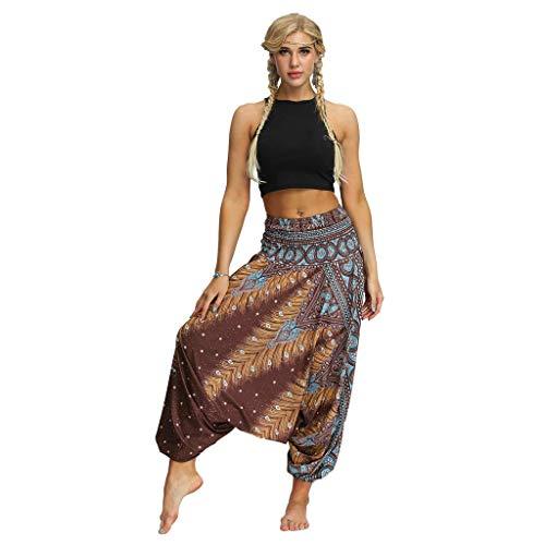 Spodnie do jogi Baggy hippie Boho spodnie festiwalowe, spodnie haremki, spodnie alladynki, spodnie pludery, dla kobiet, modne spodnie vintage na co dzień