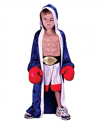 Horror-Shop campeón de boxeo de vestuario niños pequeños L