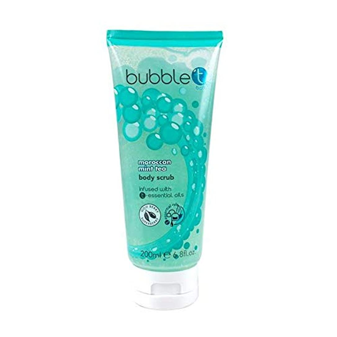 蒸気集団的材料[Bubble T ] バブルトン化粧品モロッコのミントティーボディスクラブ200ミリリットル - Bubble T Cosmetics Moroccan Mint Tea Body Scrub 200ml [並行輸入品]