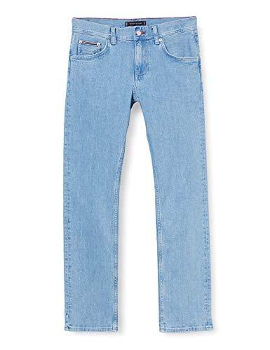Tommy Hilfiger Herren Slim Bleecker Str Alton Blue Loose Fit Jeans, Blau (Alton Blue), W34/L34