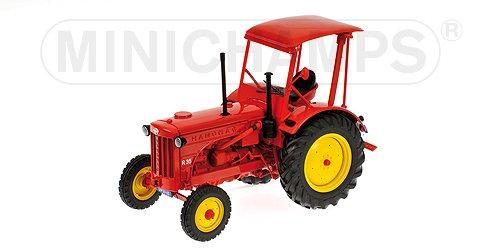 Hanomag R35 Traktor, rot, 1955, Modellauto, Fertigmodell, Minichamps 1:18