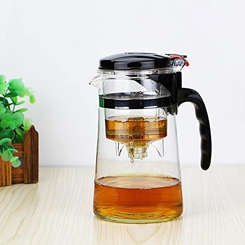 Heat Resistant Glass Teapot Chinese shop kung Puer Tea fu Kettle Set Same day shipping