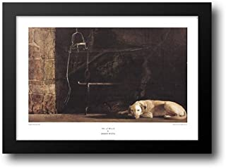 Ides of March 42x30 Framed Art Print by Wyeth, Andrew