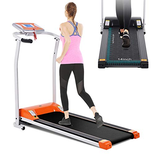 Mauccau Electric Motorized Running Machine Folding Treadmill Now $249.99