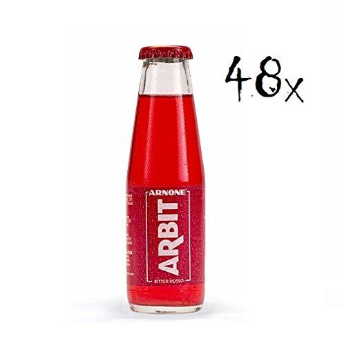 48x Arnone Arbit bitter rosso aperitivo 100ml Aperitif ohne Alkohol bitter
