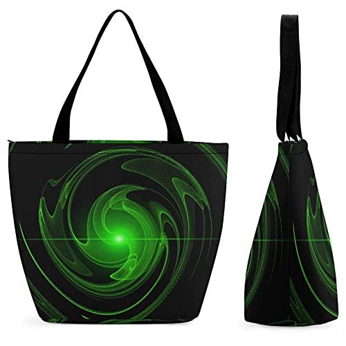 Patrón de luz de fondo textura bolsa de compras para señoras bolso de hombro bolsa de gran capacidad lona moda ocio conveniente plegable trabajo escuela viaje