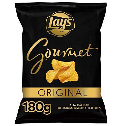 Lay's - Gourmet - Patatas Fritas con Sal - 180 g