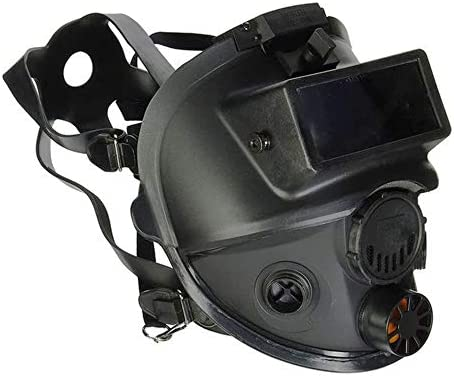 Honeywell North 7600 Series Niosh Approved Full Facepiece Silicone Respirator With Welding Adaptor product image