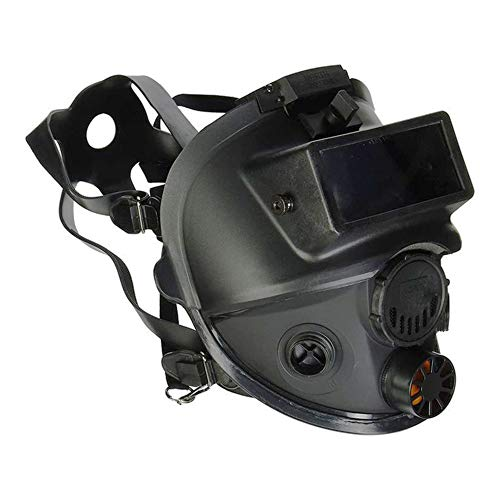 Honeywell North 7600 Series Niosh-Approved Full-Facepiece Silicone Respirator With Welding Adaptor