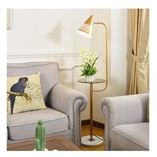 & Stehlampen Stehleuchte Vertikale LED Sofa Couchtisch Wohnzimmer Schlafzimmer Studie Moderne Minimalistische Nachttischlampe Piano Licht (Farbe : D-7 watt warm light)