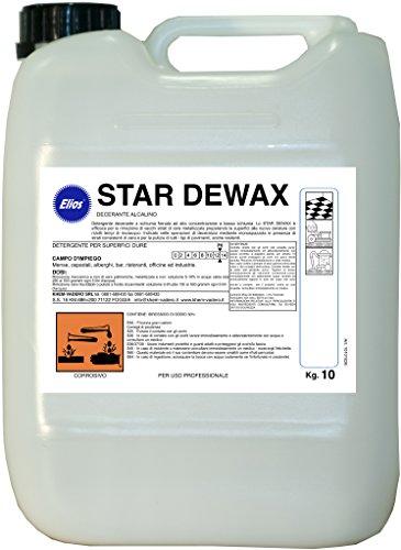 Elios - Star DEWAX decerante alcalino Senza Schiuma kg.10 - tanica kg.10