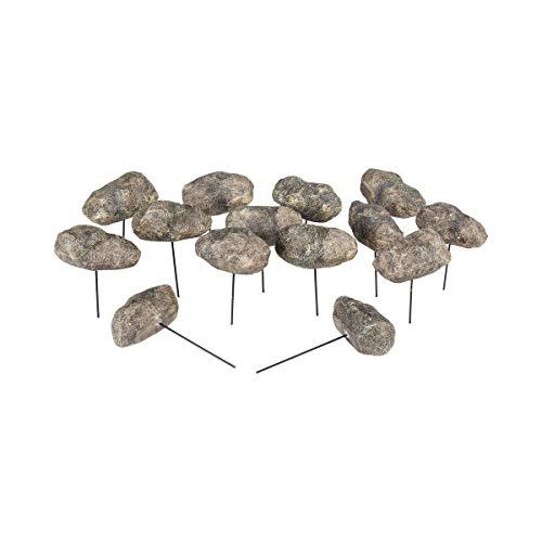 Unbekannt Beetbegrenzung Steine, 14 Stück