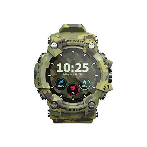 YINxy Reloj Deportivo Inteligente Hombres Impermeable Bluetooth Recordatorio Llamadas Reloj Digital Reloj Inteligente iOS Y Android