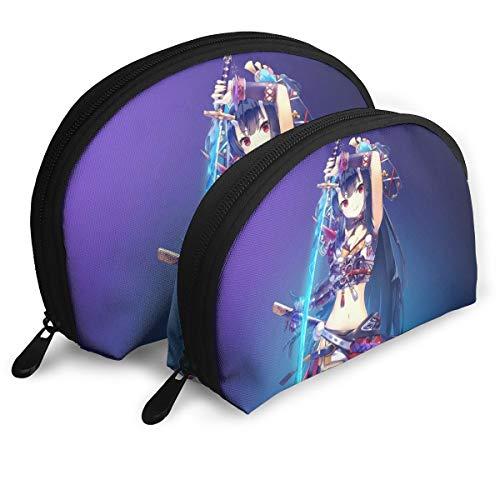 チェインChronicle シェル型バッグ 親子ポーチ 収納袋 メイクポーチ 化粧品バッグ シェルポーチ おしゃれ 小物入れ 収納整理 旅行 便利 かわいい レディース メンズ クラッチバッグ 多機能 ファスナー 二点セット