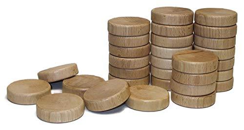 SJOELBAK Spielsteine original Shuffleboard Zubehör