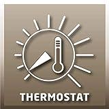 Einhell Ölradiator MR 1125/2 (bis 2500 Watt, 3 Heizstufen, stufenloser Thermostatregler, fahrbar, Kipp- und Überhitzungsschutz, Betriebsanzeige) - 7