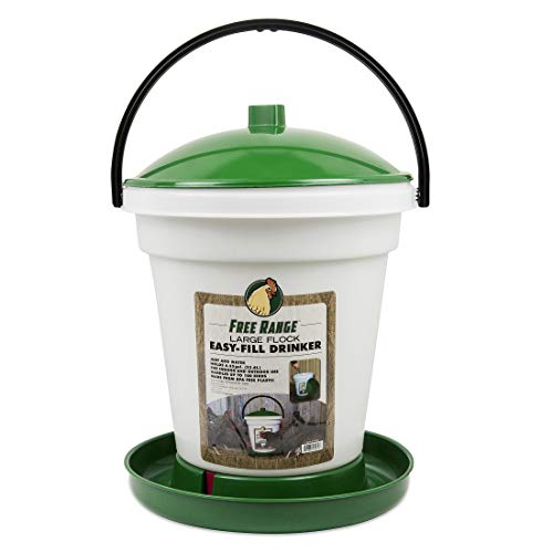 Harris Farms Easy-Fill Poultry Chicken Waterer, 6.25 Gallon