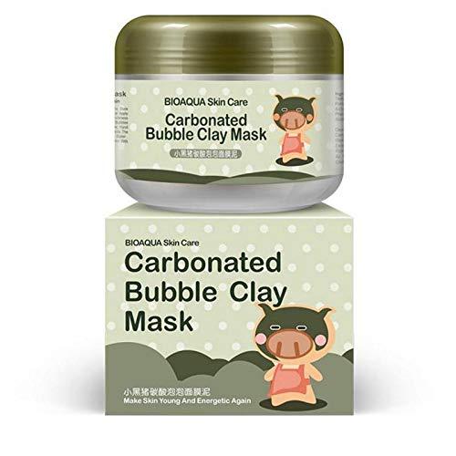 4x BIOAQUA Carbonated bubble clay face mask