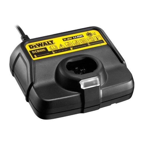 DeWalt DCB095 Accu-snellader (7,2 volt, laadt alle DeWalt Li-ion schuifaccu's (1,3-3,0 Ah) van 10,8-18,0 volt)