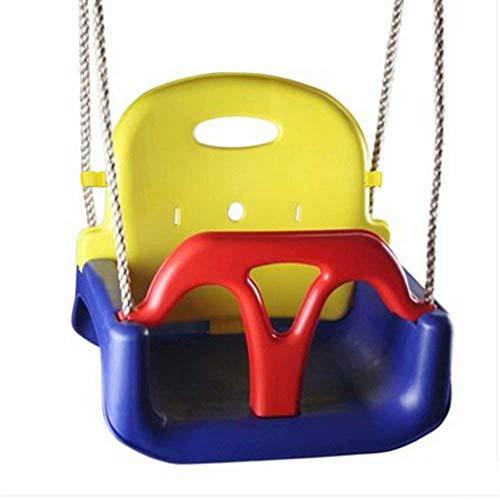 Childrens Childs Toddler Ajustable al Aire Libre Cuerda de jardín Seguridad Seguro Swing Seat Estilo 1