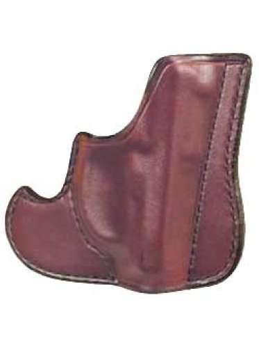 """Don Hume 001 Front Pocket Holster Ambidextrous Brown 2"""" S&W J Frame, Taurus 85 J100100R"""