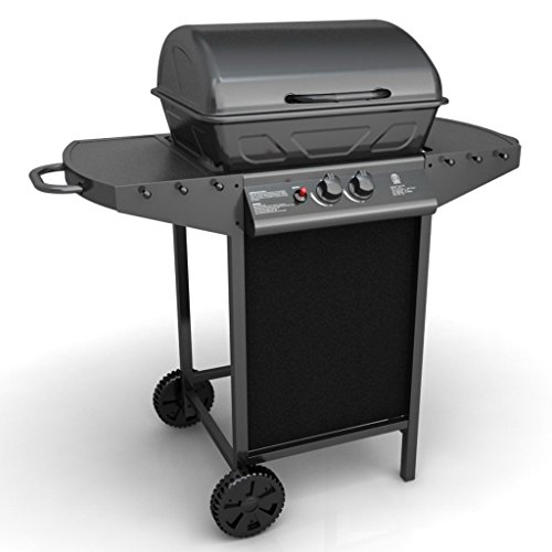 Festnight Outdoor Stahl Gasgrill Barbecue BBQ Grillwagen Gas-Grill 109 x 51 x 99 cm