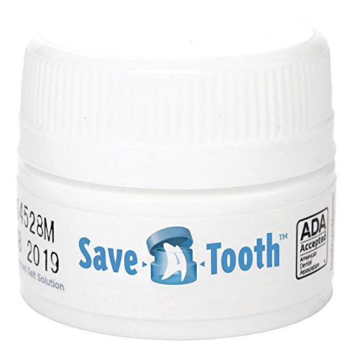 Certified Safety R512-029 Save-A-Tooth Preserving Kit, ADA Accepted, 2.6' Height, 2.5' Width