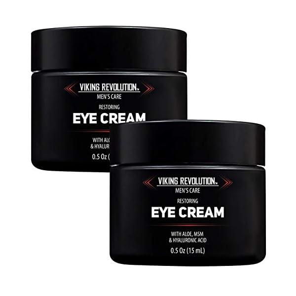 Natural Eye Cream for Men - Mens Eye Cream for Anti Aging, Dark Circle Under Eye Treatment.- Men's Eye Moisturizer… 1