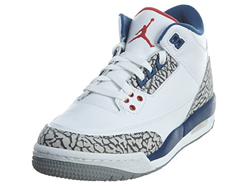 white and blue jordans - 6