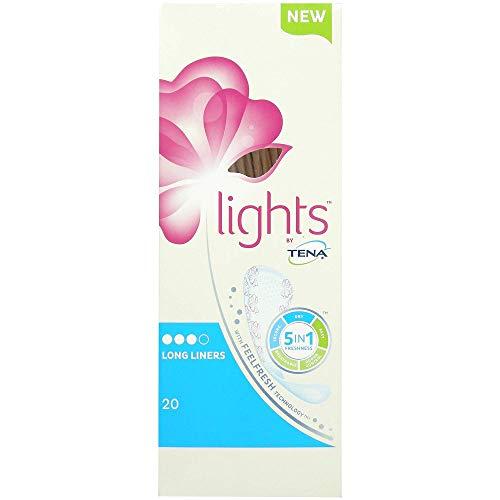 TENA Lights Long Liner – 4 Packungen à 20 (80 Einlagen)