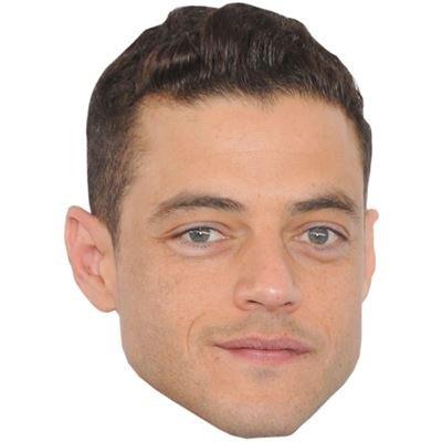 Celebrity Cutouts Rami Malek Maske aus Karton