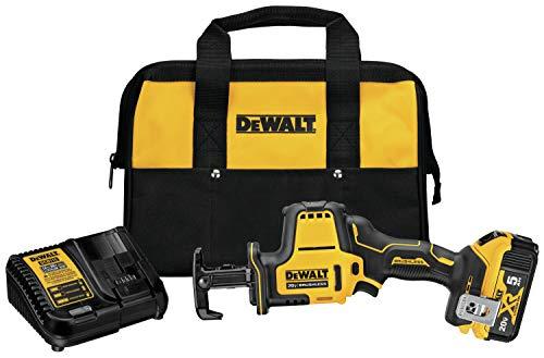 DEWALT DCS369P1 Atomic 20V Max Cordless One-Handed Reciprocating Saw Kit