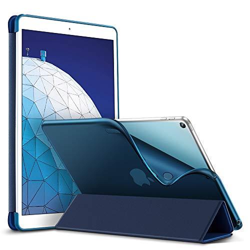 ESR Funda para iPad Air 3ª generación 2019/iPad 2019, Funda Trasera de TPU Flexible con Revestimiento de Goma, Función...