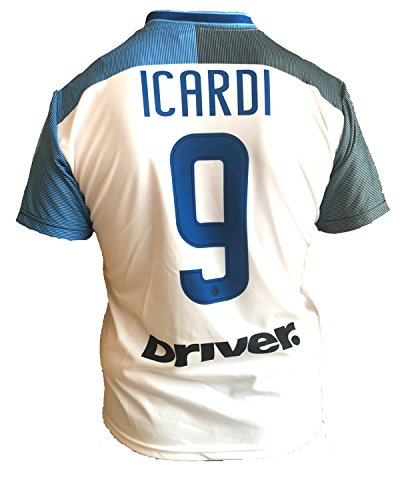 Inter Bianca Mauro Icardi 9 Seconda Away Trikot S Bianco
