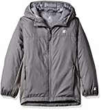 Starter Boys' Insulated Breathable Jacket, Amazon Exclusive, Iron Grey, L