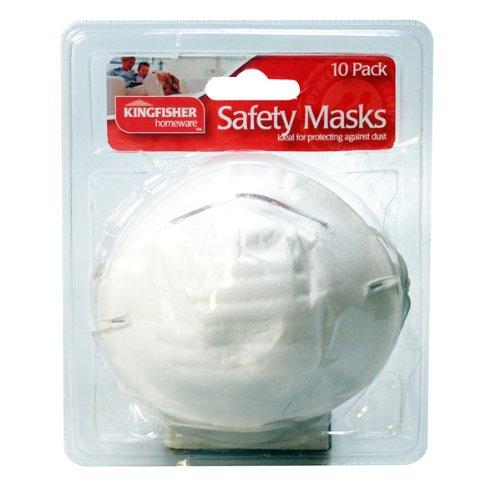 Kingfisher Set di 10 maschere antipolvere con regalo esclusivo incluso