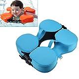 Deeabo Baby Schwimmring, EPE Schaum Auftriebsring, Baby Learning Schwimmausrüstung Unterarm Anfänger Hals für 0-3 Jahre altes Kind Anfänger, Blau