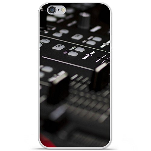Dj Mixer - Cover per Apple iPhone 6/6S, in silicone gel