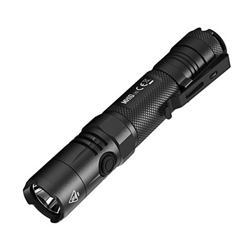 Nitecore MH10 V2 Type-C Rechargeable Flashlight 1200 Lumens - Includes a 21700 battery & Eco-Sensa Type-C USB cable