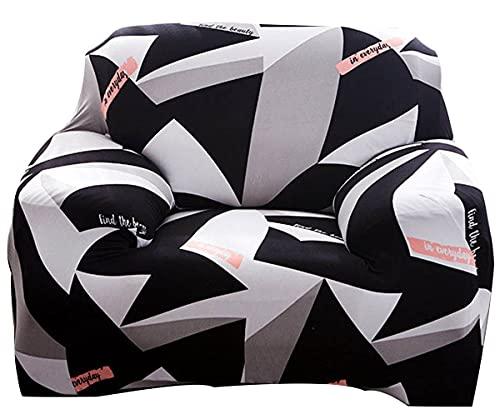 uyeoco Funda Elástica para Sofá 2 3 4 1 Plazas,Protector Cubierta para sofá (Color : P, Size : 1 Plaza (90-140cm))