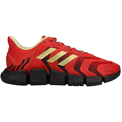 adidas Mens Climacool Vento Running Sneakers Shoes - Gold,Red - Size 13 M