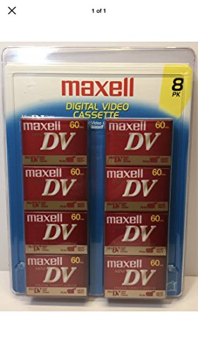 Learn More About Maxwell mini dv tapes 60/sp 90/lp 8 pack
