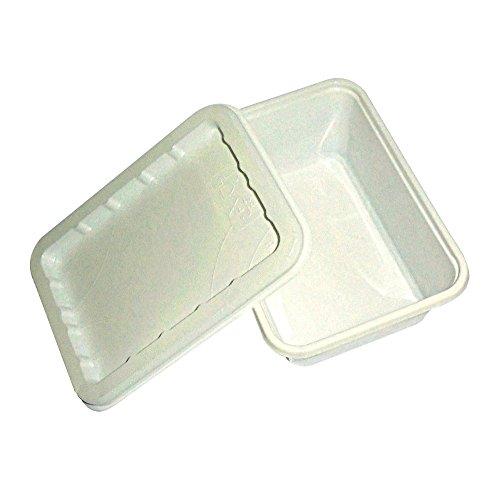 PZ 100 bacs Porte Crème + couvercle récipient pour emporter Nourriture Pommes de terre mozzarelline olives ascolane