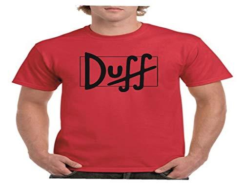 Camisetas divertidas Child Cerveza Duff - para Hombre Camisetas Talla XXL Color Rojo