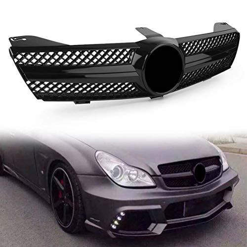 ABS Autogrill Grill schwarz glänzend für Mercedes Benz W219 CLS500 SLS600 CLS Klasse 2004 2005 2006 2007 AMG Style