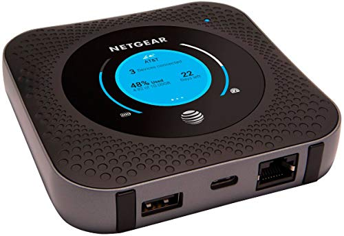 NETGEAR Nighthawk M1 MR1100 Mobile Hotspot Router for AT&T (Renewed)