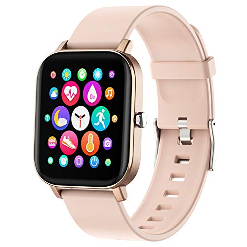 Smart Watch, FirYawee Smartwatch for Android Phones and iOS Phones,Fitness...