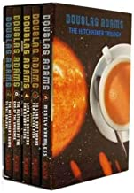 Hitchhiker's Guide to the Galaxy Trilogy Collection 5 Books Set by Douglas Adams